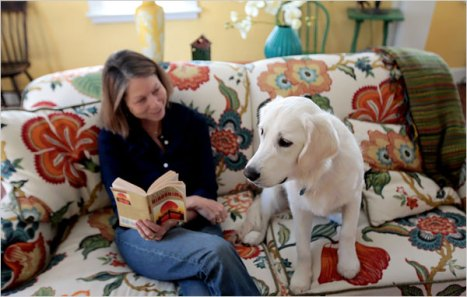 Jill Abramson and Scout at home. Visit The Puppy Diaries on Flickr for more photos and video. By JILL ABRAMSON Published: January 11, 2010